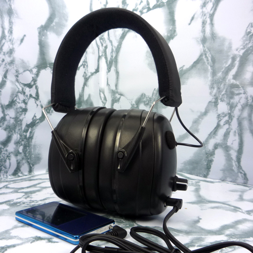 EE6003 two-way stereo electronic safety earmuffs with input