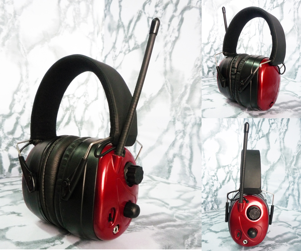 EE6003AMFM radio safety earmuff